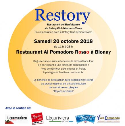 Restory 2018 - Le Rotary fait sa cuisine !