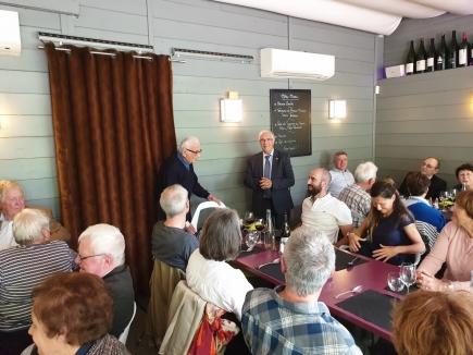Visite du Rotary Club de Chambéry